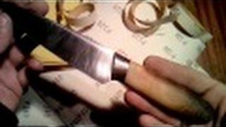 getlinkyoutube.com-Рукоять для ножа методом намотки.( Эпоксидка+бинт)