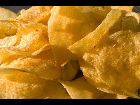 كيف تصنع ال chips في المايكروايف ?