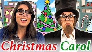getlinkyoutube.com-A Christmas Carol Story | Story Time with Ms. Booksy at Cool School