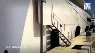 getlinkyoutube.com-Yatch Venus di Steve Jobs ormeggiato nel porto di Brindisi nell'Adriatico by Italiamac