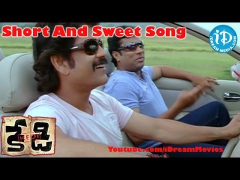 Short And Sweet Song - Kedi Movie Songs - Nagarjuna - Mamtha Mohandas - Anushka Shetty