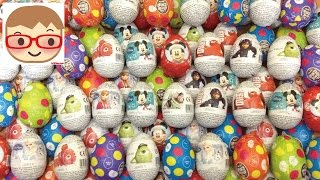 getlinkyoutube.com-チョコエッグ&サプライズエッグ/スターウォーズ,ディズニー,アナと雪の女王,ベイマックス Choco egg&surprise eggs