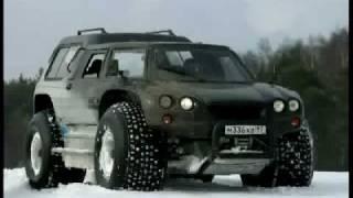 getlinkyoutube.com-Extreme AMPHIBIOUS Russian offroad vehicle: Aton-Impulse VIKING-2992