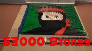 getlinkyoutube.com-Clumsy Ninja in Domino