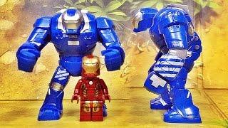 getlinkyoutube.com-Decool 아이언맨 이고르 마크 38 슈트 레고 짝퉁 피규어 Lego knockoff Iron man mark 38 IGOR