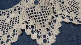 getlinkyoutube.com-Orilla # 13 de Corazones Crochet parte 1 de 2