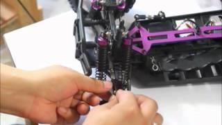 getlinkyoutube.com-How to upgrade HSP Redcat racing 94111 Volcano EPX PRO 102010 102011 102012 102068 Front/Rear Hub