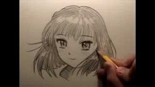 getlinkyoutube.com-How to Draw Manga Hair [REUPLOAD to restore audio]