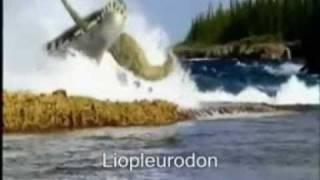 getlinkyoutube.com-Megalodon Vs Liopleurodon