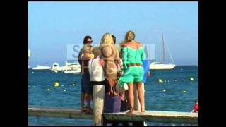 getlinkyoutube.com-Victoria Silvstedt on holidays in Saint Tropez