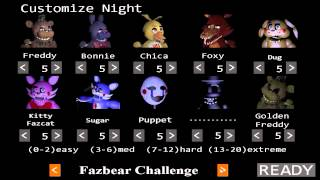 getlinkyoutube.com-The Return to Freddy's 2 | Night 7 Preview