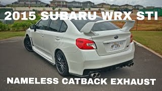 getlinkyoutube.com-2015 Subaru WRX STI - Nameless Catback Exhaust Installed & Tested - OCTurboJoe