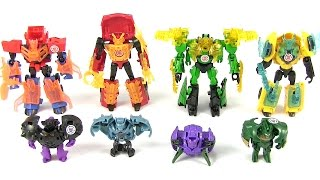 getlinkyoutube.com-Decepticon Hunters Battle Packs - Transfomers Robots In Disguise - Full Set