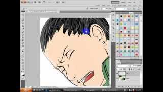 شرح رسم خصل الشعر بالفوتوشوب.wmv