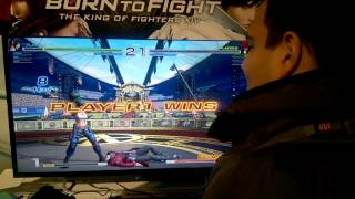 getlinkyoutube.com-The King of Fighters XIV 14 Day 2 Playstation Experience Video