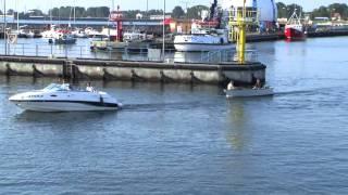 getlinkyoutube.com-HEL port, zatoka, Bałtyk