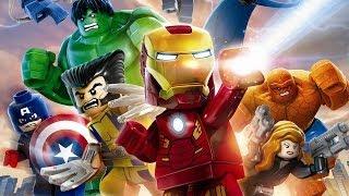 getlinkyoutube.com-LEGO Marvel Super Heroes Full Movie 2013 All Cutscenes Cinematics HD