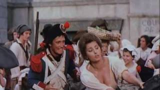 Sophia Loren's breasts and ass grabbed in Madame Sans Gene