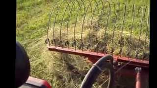 Самодельные грабли для уборки сена.