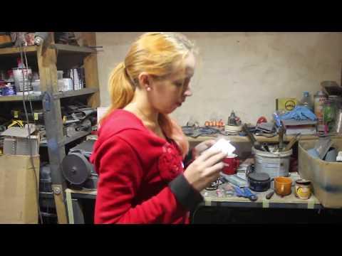 Ремонт и покраска бампера Rover 25 своими руками часть 1