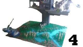 Lego Star Wars Clone Tower Base on Kahyyyk #4