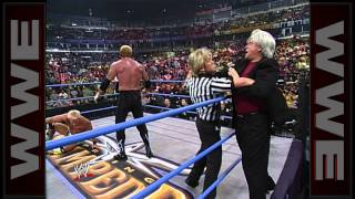 getlinkyoutube.com-Kimberly Page turns her back on Diamond Dallas Page: Spring Stampede 2000