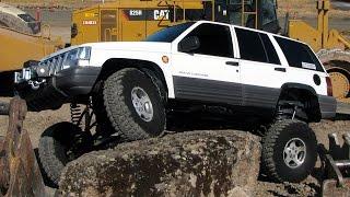 getlinkyoutube.com-Jeep Grand Cherokee 4x4 Project ZJ Part 28 Full Flex Iron Rock Off Road IRO Long Arm Lift Kit
