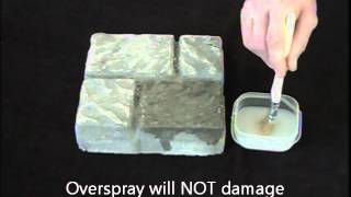 Micro-seal & Blok-lok Water Repellent Demo