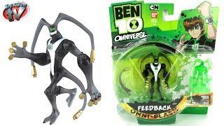 getlinkyoutube.com-Ben 10 Omniverse Omni-Plasm Feedback Action Figure Toy Review, Bandai