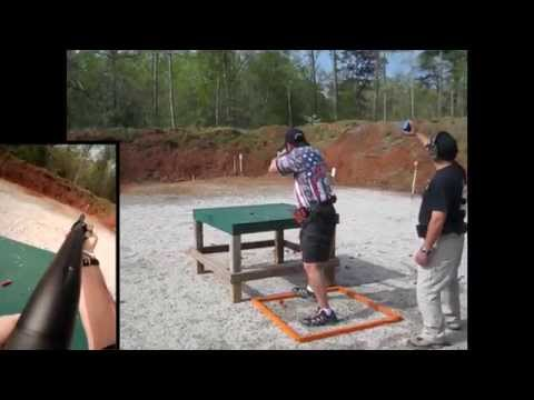 Jeffrey Abraham from Not Right Shooters shooting the Noveske Atlanta 3 Gun Challenge (4-20-14)