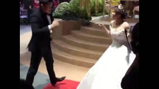 At the Reception - Dingdong Marian Wedding