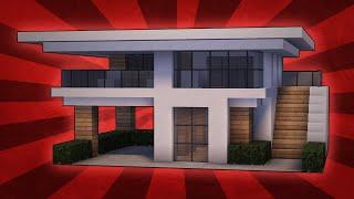 getlinkyoutube.com-Minecraft: How To Build A Small Modern House Tutorial (#10)