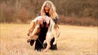 getlinkyoutube.com-Dog tricks by German Shepherd Britney - 2 years !