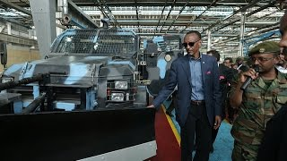 getlinkyoutube.com-President Kagame visiting Ethiopia's Metals and Engineering Corporation- Ethiopia, 17 April 2015