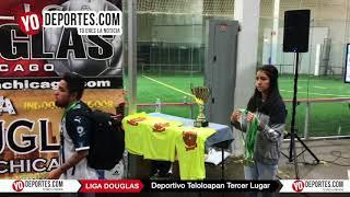 Deportivo Teloloapan Tercer Lugar en la Liga Douglas