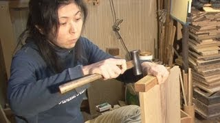 getlinkyoutube.com-釘を使わない伝統の家具 東京職人「江戸指物」