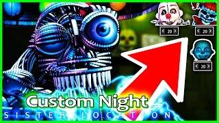 getlinkyoutube.com-FNAF Sister location CUSTOM NIGHT & SECRET ENDING 2?! - Five Nights at Freddy's Sister Location