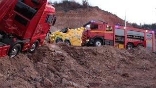 RC Realistic_MAN trucks tow Story