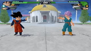 getlinkyoutube.com-Trunten : Songoten and Trunks Potaras Fusion VS Mr Popo and others (Dragon Ball Z Tenkaichi 3 Mod)