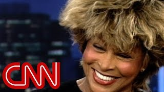 getlinkyoutube.com-Why Tina Turner left the U.S. (1997 Larry King Live inter...