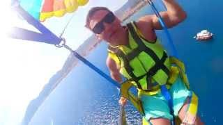 getlinkyoutube.com-vlog: турция мармарис полет на парашют