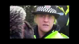 getlinkyoutube.com-I'm Not allowed to Think! ... An exchange with a Greater Manchester Police Officer at Barton Moss