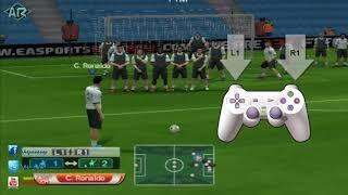 getlinkyoutube.com-How to play free kick pes 6 طرق لعب الضربة الحرة فى