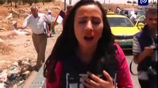 getlinkyoutube.com-قوات الاحتلال تعتدي على طاقم رؤيا خلال تغطية ذكرى أبو خضير