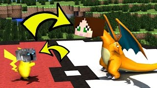 getlinkyoutube.com-Minecraft: BECOMING A POKEMON IN REAL LIFE!! - Would You Rather - Mini-Game