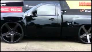 """getlinkyoutube.com-Chevy on 28"""" DUB Ballers by Wheels N Motion  (Created with"""