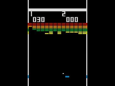 2/4: Data Driven Gamer: Breakout (Atari, 1976 arcade, 60fps)