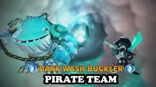 getlinkyoutube.com-Skylanders Imaginators - Thumpback & Dark Wash Buckler with Pirate Music GAMEPLAY - PIRATE TEAM