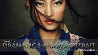 getlinkyoutube.com-Photoshop Tutorial : DRAMATIC AND MOOD PORTRAIT #1