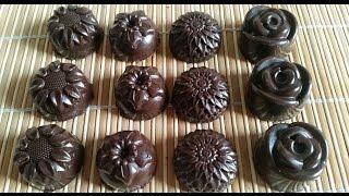 getlinkyoutube.com-Chocolate Praline Ganache - شكلاطة بالكناش و البراليني - Ganache au chocolat praliné